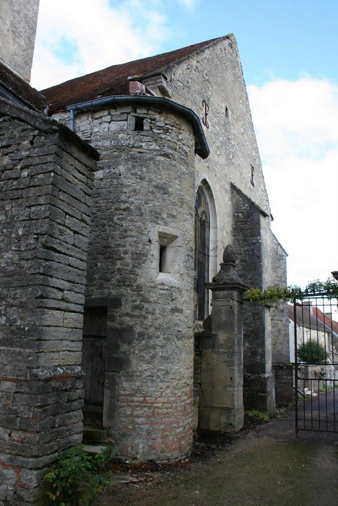 entrée du jardin de l'église