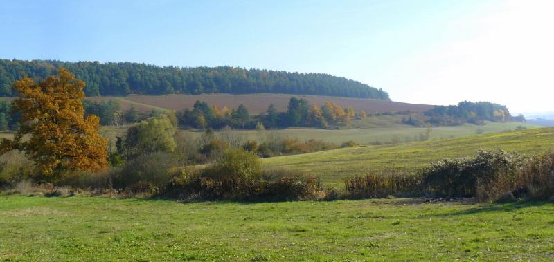 Vue de la campagne environnante